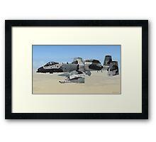 The Fairchild Republic A-10 Thunderbolt II Framed Print