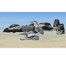 The Fairchild Republic A-10 Thunderbolt II Photographic Print