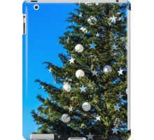 Outdoor Christmas decoration in Strasbourg, Alsace,  France iPad Case/Skin