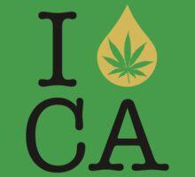 I Dab CA (California) Weed by LaCaDesigns