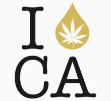 I Dab CA (California) Weed by LaCaDesigns