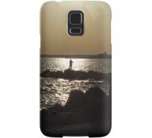 sunset and yoga in stonington borough 3 Samsung Galaxy Case/Skin