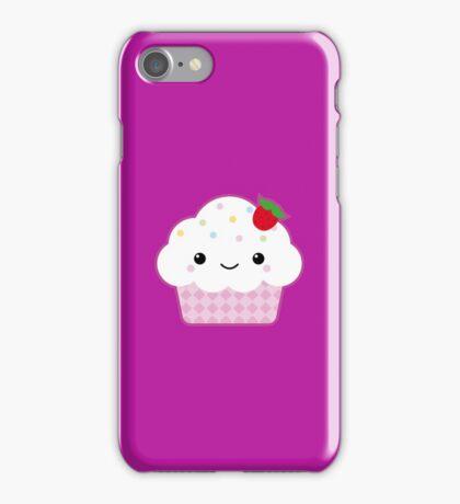 Kawaii cupcake iPhone Case/Skin