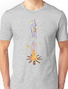 That magical night around the campfire Unisex T-Shirt