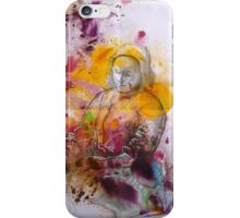 churning - a homage to Johannes Vermeer iPhone Case/Skin