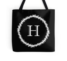 Monochrome Monogram H Tote Bag