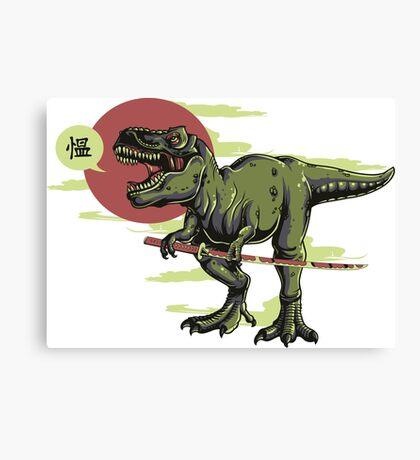 Japanese T-Rex Canvas Print
