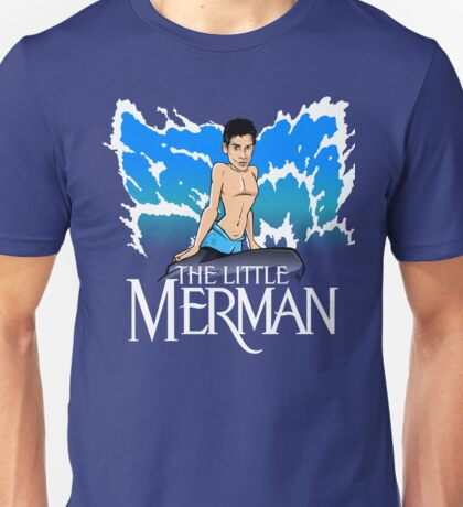 The Little Merman Unisex T-Shirt