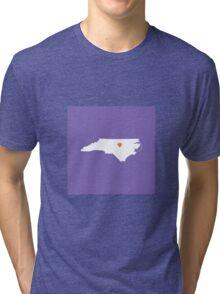 North Carolina Love Tri-blend T-Shirt