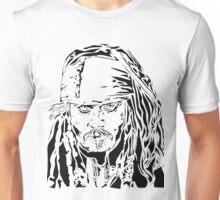 Jack Sparrow - Stencil Unisex T-Shirt