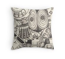 The World of the Doctor Throw Pillow