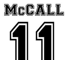 Mccall 11 Sticker