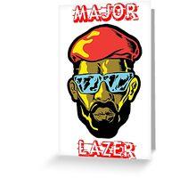 major lazer Greeting Card