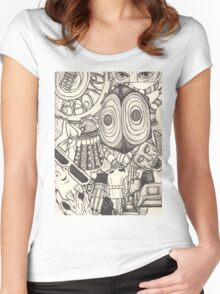 The World of the Doctor Women's Fitted Scoop T-Shirt