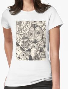The World of the Doctor Womens Fitted T-Shirt