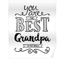 You are the best Grandpa in the World Poster