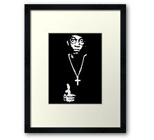 """Big L tribute"" Framed Print"