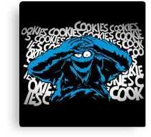 Just One Bad Cookie Canvas Print