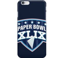 Paper Bowl Sunday iPhone Case/Skin