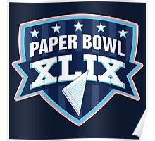 Paper Bowl Sunday Poster
