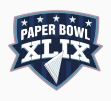 Paper Bowl Sunday Kids Clothes