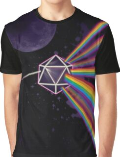 Pink Floyd Dark Side of the Moon Dungeons & Dragons Graphic T-Shirt