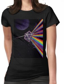 Pink Floyd Dark Side of the Moon Dungeons & Dragons Womens Fitted T-Shirt