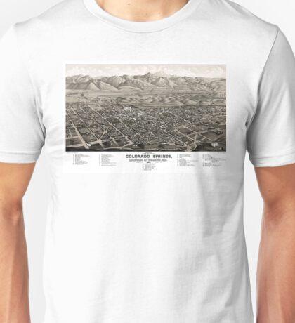 Colorado Springs - Colorado - 1882 Unisex T-Shirt