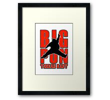 Big Punisher  Framed Print