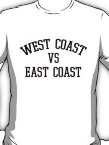 "West VS East - ""Black"" T-Shirt"