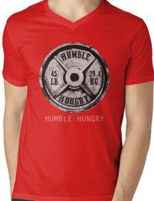 HUMBLE HUNGRY T SHIRT Mens V-Neck T-Shirt