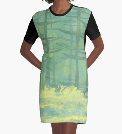 The Clearing Graphic T-Shirt Dress