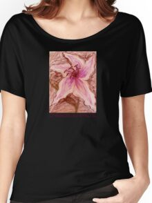 Stargazer Lily in Pastel shirt Women's Relaxed Fit T-Shirt