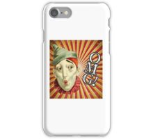 OMG! Clown (With Background) iPhone Case/Skin