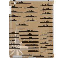WW2 American Fleet iPad Case/Skin