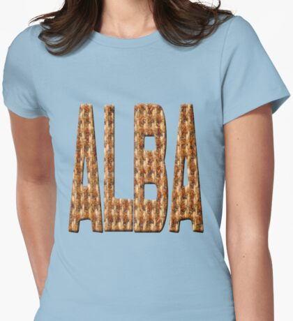 Tweed Alba Womens Fitted T-Shirt