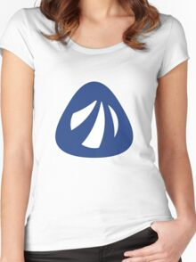 Antergos Linux Logo Women's Fitted Scoop T-Shirt
