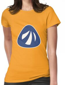 Antergos Linux Logo Womens Fitted T-Shirt