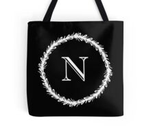 Monochrome Monogram N Tote Bag