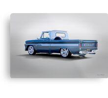 1966 Chevrolet C10 Custom Pickup Metal Print