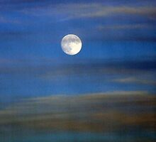 once in a blue moon rising by Maureen Zaharie