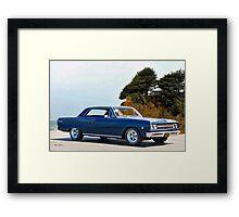 1965 Chevelle Malibu SS327 Framed Print