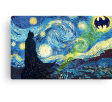 The Starry Knight Canvas Print