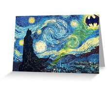The Starry Knight Greeting Card