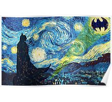 The Starry Knight Poster