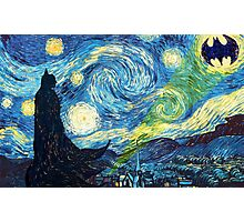 The Starry Knight Photographic Print
