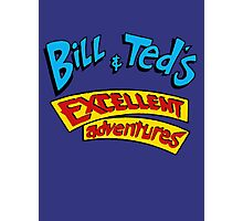 Bill and Ted - Logo Photographic Print