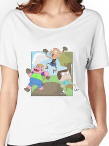 Mud Fight!  Women's Relaxed Fit T-Shirt