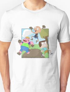 Mud Fight!  T-Shirt
