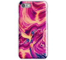 Amazing Pink Abstract Oil Painting iPhone Case/Skin